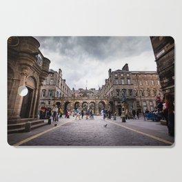 Royal Mile in Edinburgh, Scotland Cutting Board