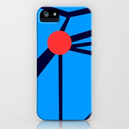 3 Red Dots iPhone Case