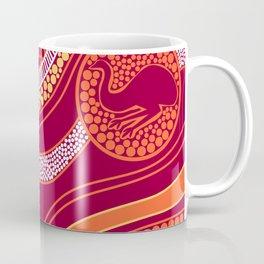 Authentic Aboriginal Art - Animals Coffee Mug