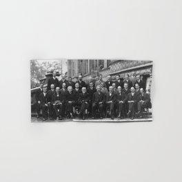 1927 Solvay Conference on Quantum Mechanics Hand & Bath Towel