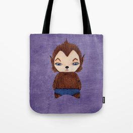 A Boy - Werewolf Tote Bag