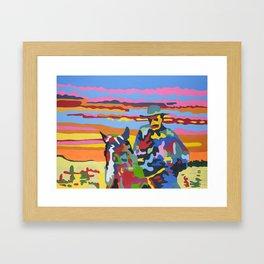 OSSO BUCCO - The Corn Man Framed Art Print