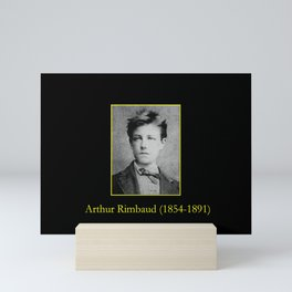 Etienne Carjat - Portrait of Rimbaud Mini Art Print