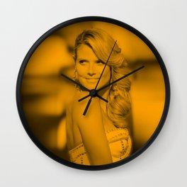 Heidi Klum - Celebrity Wall Clock