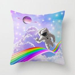 Road through the heavens  Throw Pillow