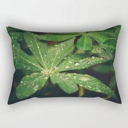 Mood Rain Rectangular Pillow