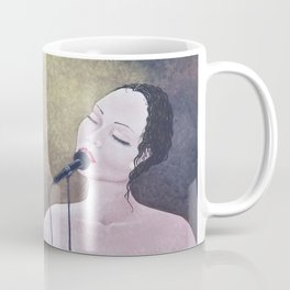 The Moment, Singing Woman Painting, by Faye Coffee Mug