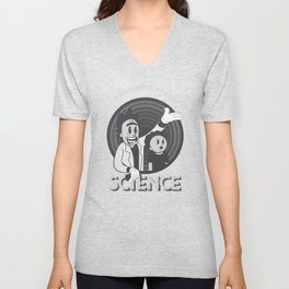 A HUNDRED YEARS SCIENCE Unisex V-Neck