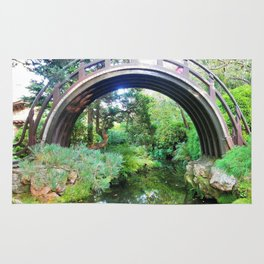 Bridge of serenity Rug