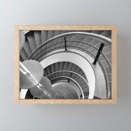 Curved Stairs Framed Mini Art Print