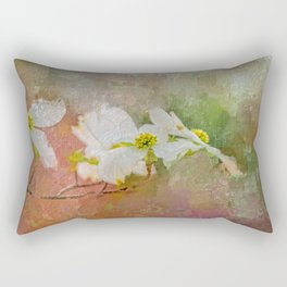 Spring Dogwood Rectangular Pillow