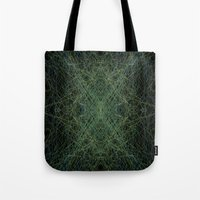 trippy Tote Bags featuring Trippy by writingoverashes