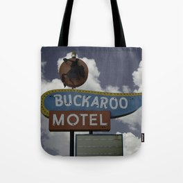 Buckaroo Motel Route 66 Tote Bag