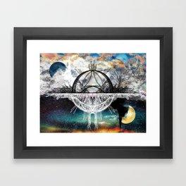 TwoWorldsofDesign Framed Art Print