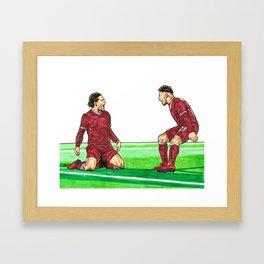 Cup Winner Framed Art Print
