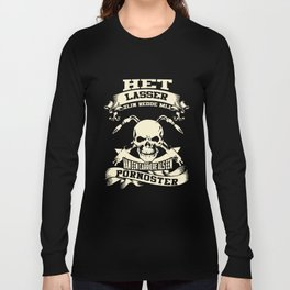 het laser zijn redde mij van een carriere als een pornoster mechanic t-shirts Long Sleeve T-shirt