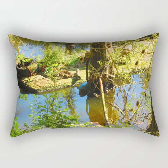 Reclaimed By Nature Rectangular Pillow
