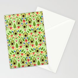 Happy Avocados Stationery Cards