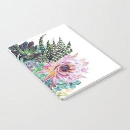Succulent Bouquet Notebook