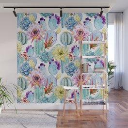 Cactus Pattern 11 Wall Mural