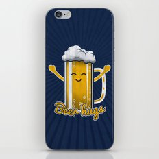 Beer Hugs iPhone & iPod Skin
