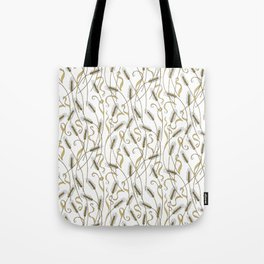 Art Nouveau - Scattered Wheat Tote Bag