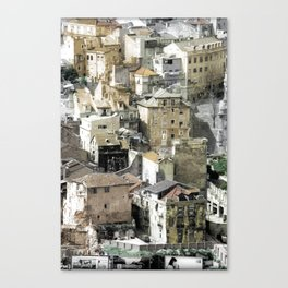 VIEW FROM THE CASTLE - LISBON (PORTUGAL) Canvas Print