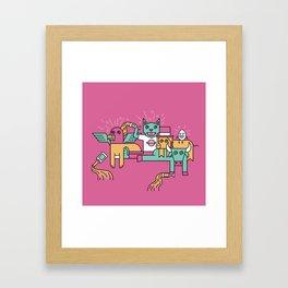 Happy Hangover Framed Art Print