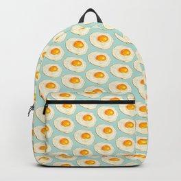 Egg Pattern - Blue Backpack