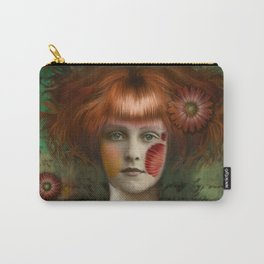 """Daisy Woman (Detail)"" Carry-All Pouch"