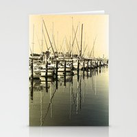 nautical Stationery Cards featuring Nautical  by Devin Stout