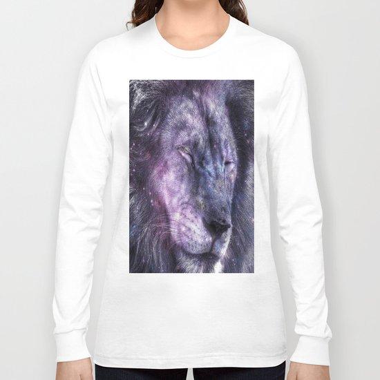 galaxy lion leo Long Sleeve T-shirt