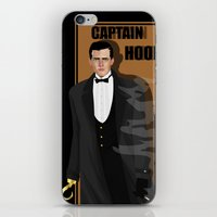 captain hook iPhone & iPod Skins featuring captain hook by snsemstlcp