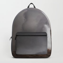 Geyser letting off steam Backpack
