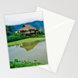 Mountain Village in Vietnam Stationery Cards