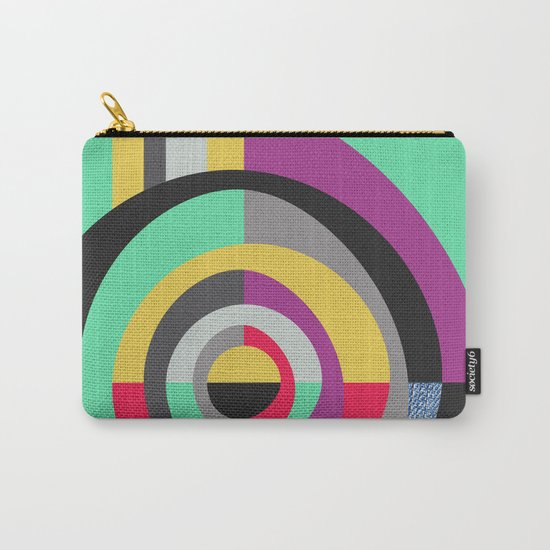 Geometric#19 Carry-All Pouch