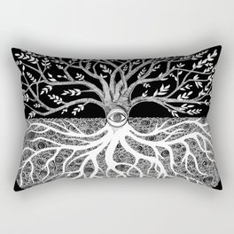 Druid Tree of Life Rectangular Pillow