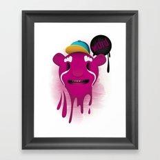 Word Up Framed Art Print