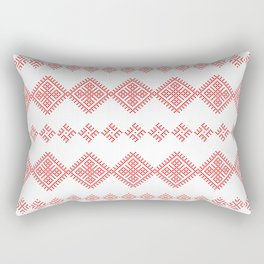 Pattern - Family Unit - Slavic symbol Rectangular Pillow