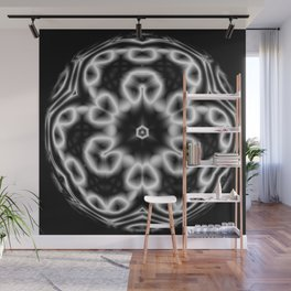 Gray Matter Maze Abstract Wall Mural