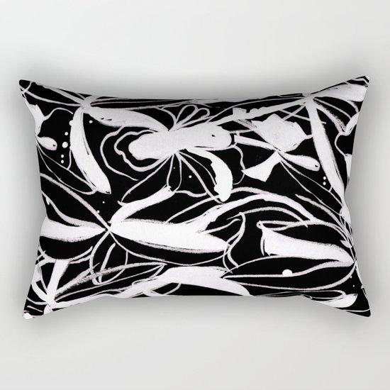 Snowy Forest II Rectangular Pillow