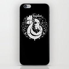 Vendredi 13 monogram iPhone & iPod Skin