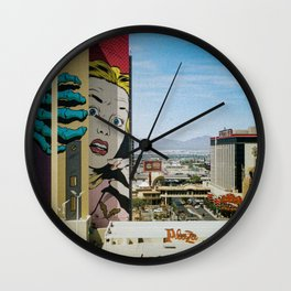 Lazy Desert Days Wall Clock