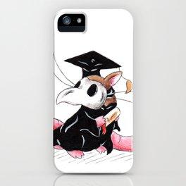 Plague Rat Grad (Thank You Card) iPhone Case