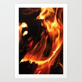 Ashes to Ashes Art Print