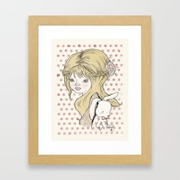 me&you Framed Art Print