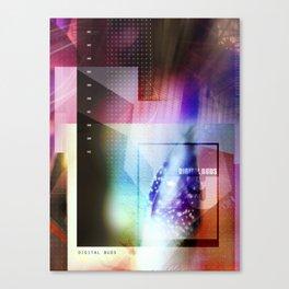 digital buds 1 Canvas Print