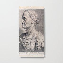 Gaius Julius Caesar Metal Print