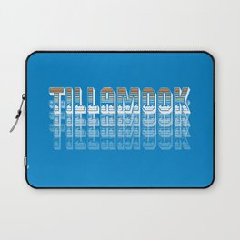 Seasons K Designs Tillamook Sunset Fade Laptop Sleeve