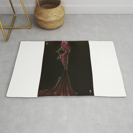 Azzedine. The king of hearts Rug